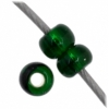 Czech Seedbead 11/0 Dark Green Silverlined
